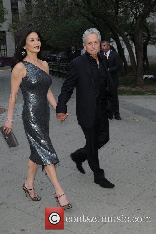 Michael Douglas, Catherine Zeta Jones and Tribeca Film Festival 2
