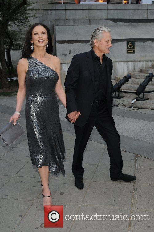Michael Douglas, Catherine Zeta Jones and Tribeca Film Festival 6