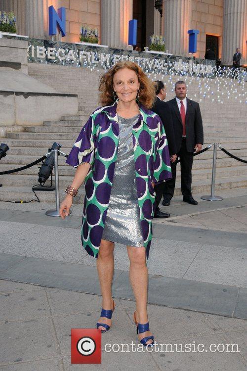 Diane Von Furstenberg and Tribeca Film Festival