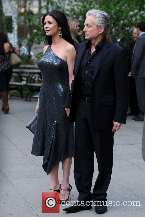 Michael Douglas, Catherine Zeta Jones and Tribeca Film Festival