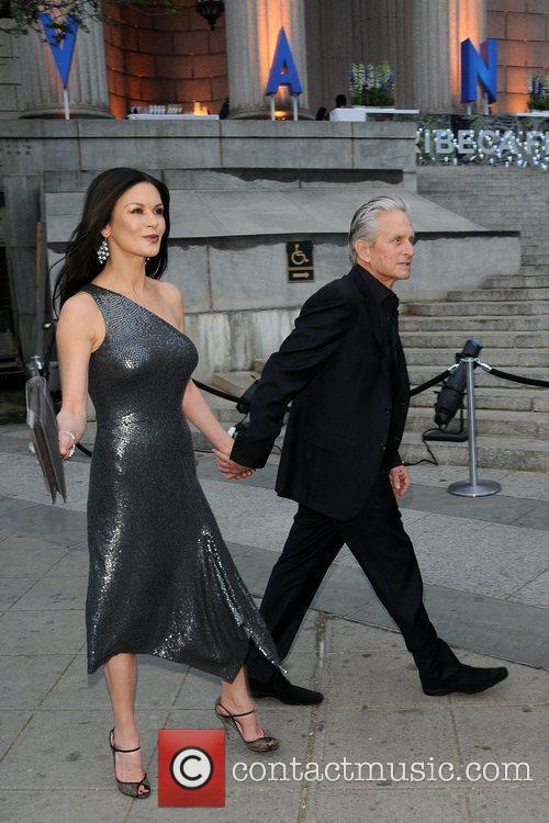Michael Douglas, Catherine Zeta Jones and Tribeca Film Festival 7