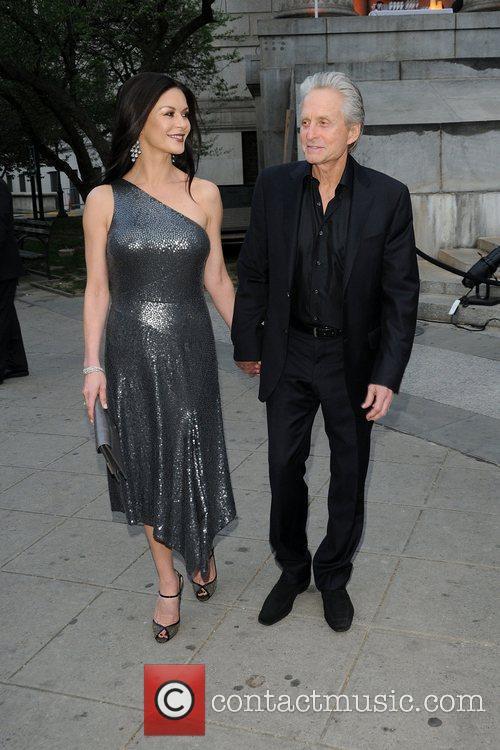 Michael Douglas, Catherine Zeta Jones and Tribeca Film Festival 9
