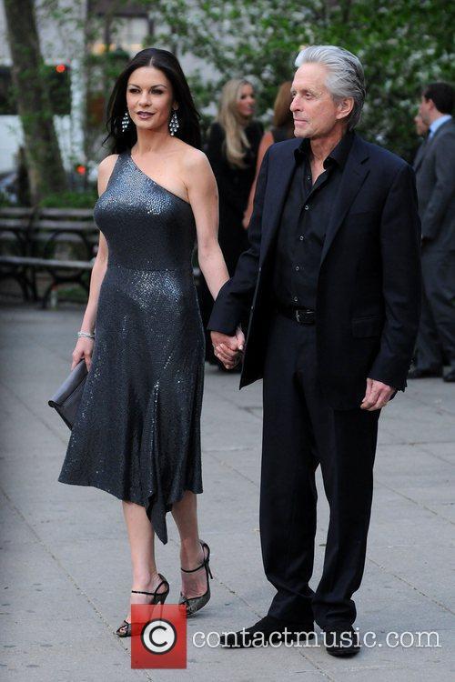 Michael Douglas, Catherine Zeta Jones and Tribeca Film Festival 10