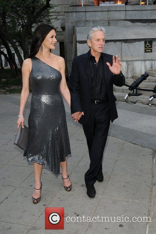 Michael Douglas, Catherine Zeta Jones and Tribeca Film Festival 11