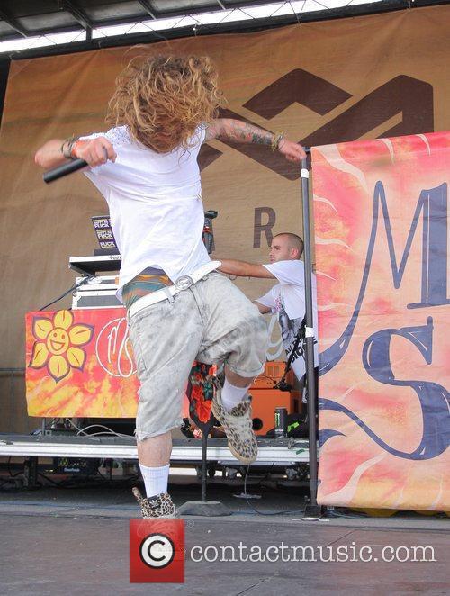 Mod Sun 2012 Vans Warped Tour at the...