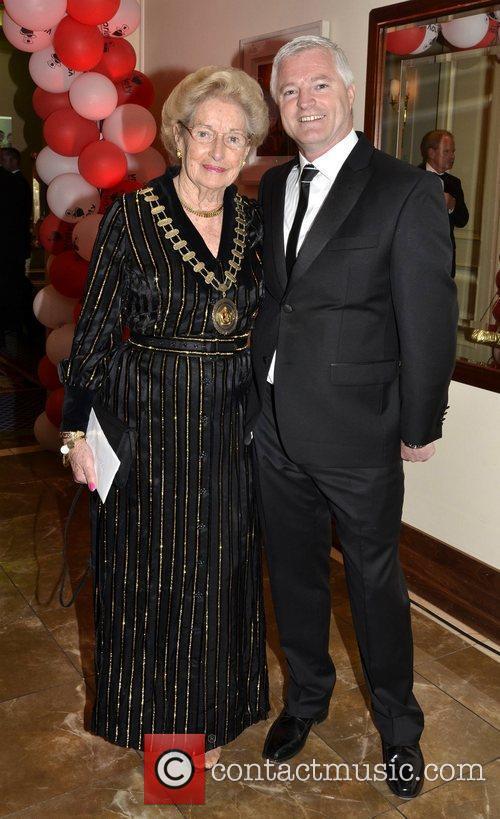 Betty Wall, Derek O'Neill Variety Children's Charity Humanitarian...