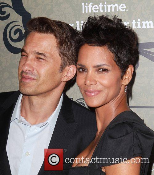 Oliver Martinez and Halle Berry  Variety's 4th...