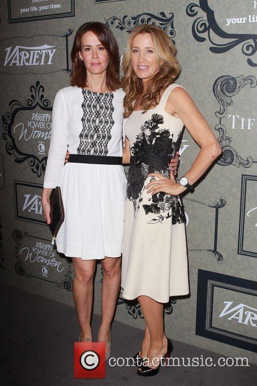 Sarah Paulson and Felicity Huffman 2