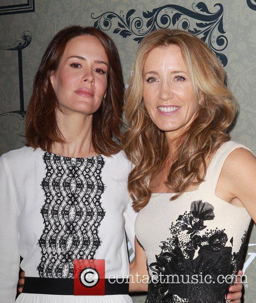 Sarah Paulson and Felicity Huffman 3