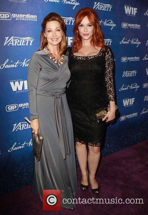Sharon Lawrence, Christina Hendricks  Variety and Women...