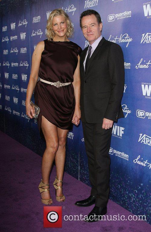 Anna Gunn and Bryan Cranston 3