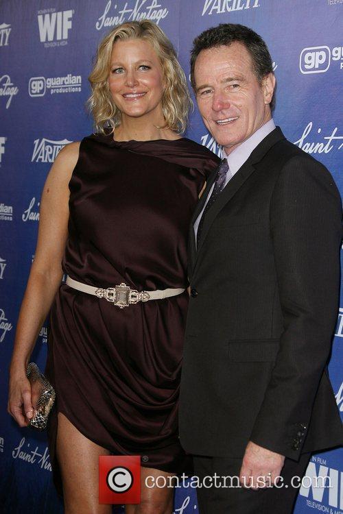 Anna Gunn and Bryan Cranston Variety And Women...