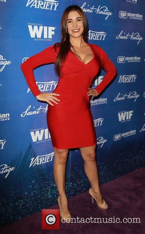 Mayra Veronica Variety And Women In Film Pre-EMMY...