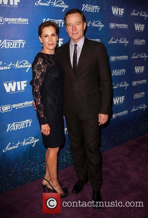 Robin Dearden, Bryan Cranston Variety And Women In...
