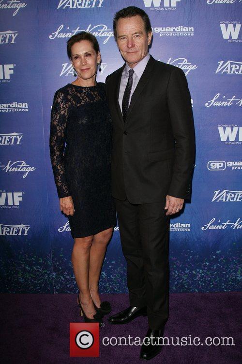 Bryan Cranston and Robin Dearden Variety And Women...