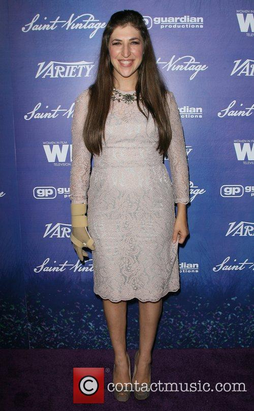 Mayim Bialik Variety And Women In Film Pre-EMMY...