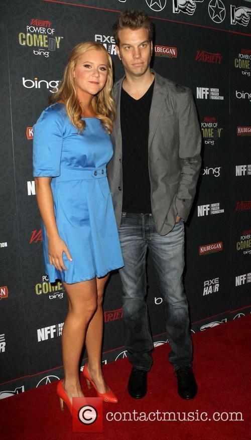 Amy Schumer and Anthony Jeselnik