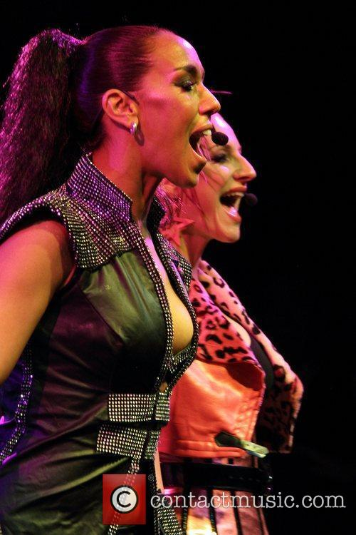 Kim Sasabone, Denise Post-Van Rijswijk Vengaboys performing live...