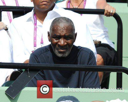 Richard Williams Venus Williams (USA) competes against Aleksandra...