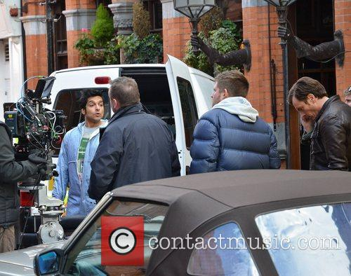 Ronny Jhutti BBC 2 police comedy-drama 'Vexed' filming...