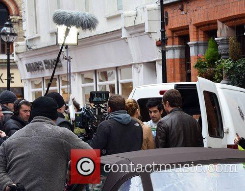 BBC 2 police comedy-drama 'Vexed' filming a crime...