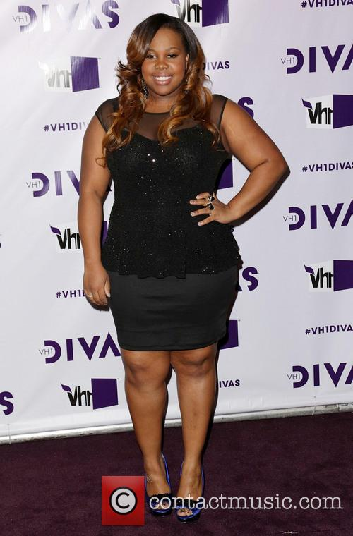 Amber Riley and Vh1 Divas 5
