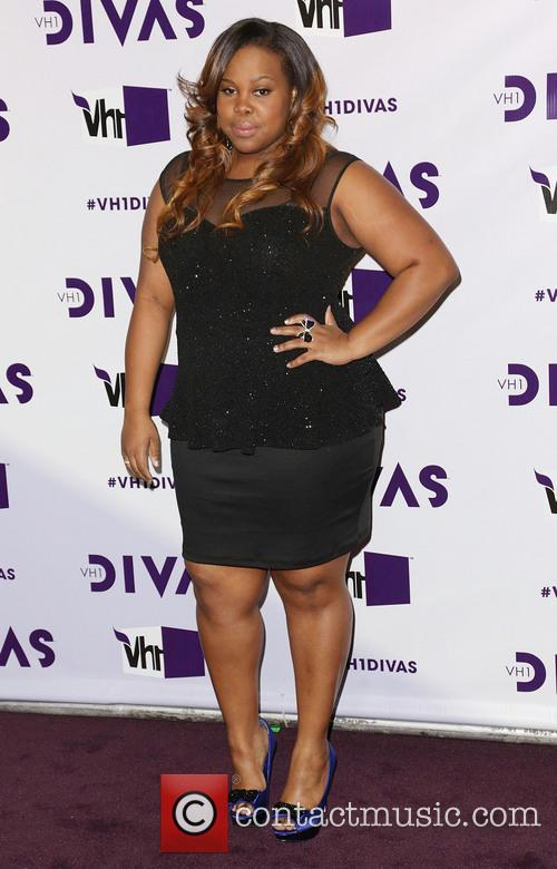 Amber Riley and Vh1 Divas 1