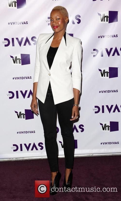 guest VH1 Divas 2012 held at The Shrine...