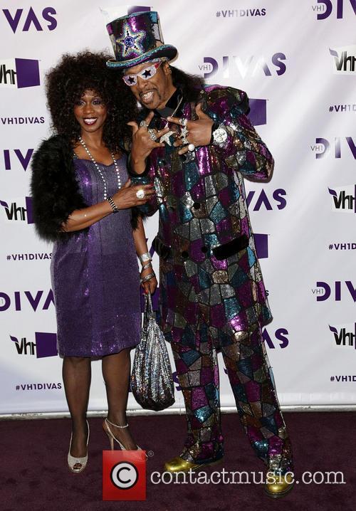 Musician Bootsy Collins (R); Patti Collins VH1 Divas...