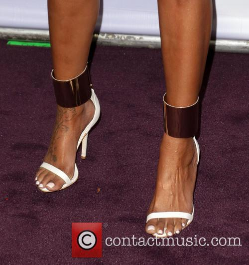 Singer Br; y (shoe detail) VH1 Divas 2012...