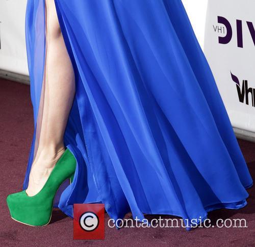 Singer Natasha Bedingfield (shoe detail) VH1 Divas 2012...