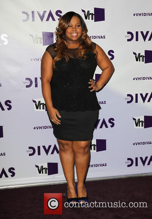 Amber Riley and Vh1 Divas 2