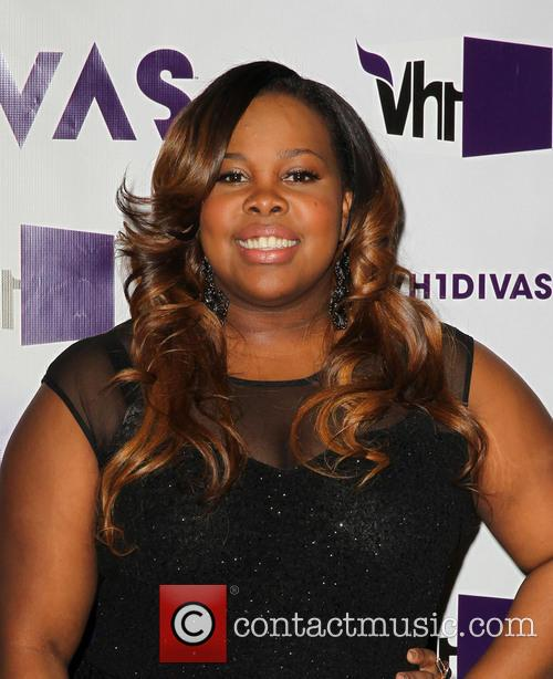 Amber Riley and Vh1 Divas 3