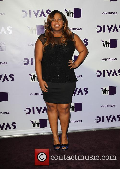 Amber Riley and Vh1 Divas 4