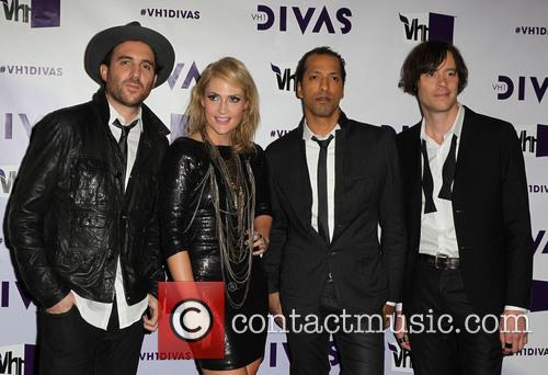 James Shaw, Emily Haines, Josh Winstead, Joules Scott-key and Metric 4