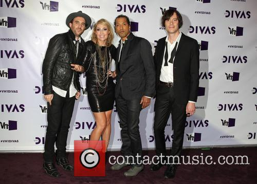James Shaw, Emily Haines, Josh Winstead, Joules Scott-key and Metric 3