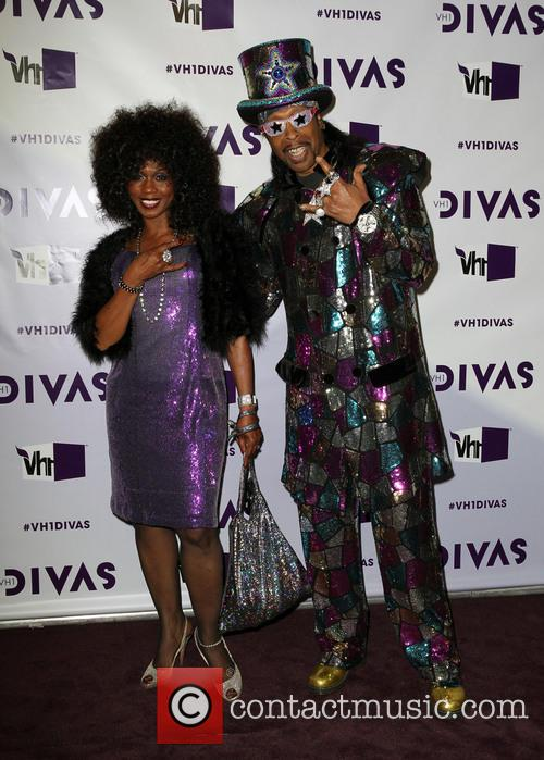 Patti Collins; Bootsy Collins VH1 Divas 2012 held...