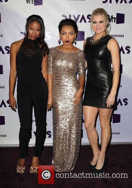 Taylour Paige; Logan Browning; Katherine Bailess VH1 Divas...