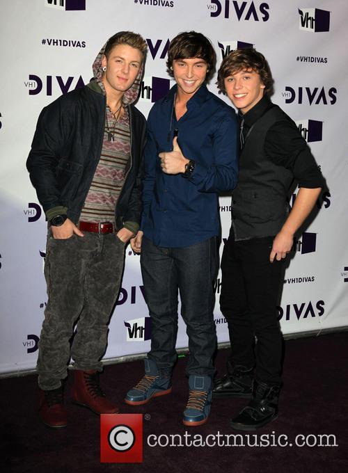 Wesley Stromberg; Drew Chadwick; Keaton Stromberg VH1 Divas...