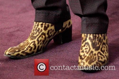 Adam Lambert (boot detail) VH1 Divas 2012 held...
