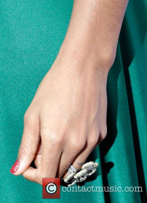 Kelly Rowland (ring detail) VH1 Divas 2012 held...