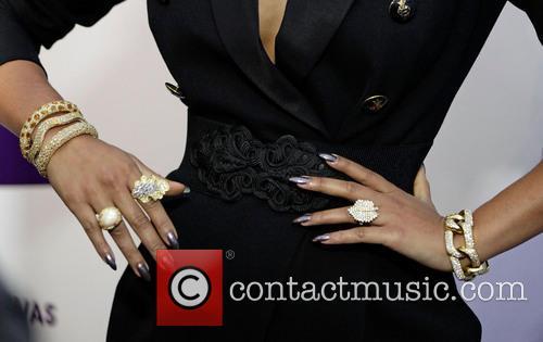 Keri Hilson (jewelry detail) VH1 Divas 2012 held...