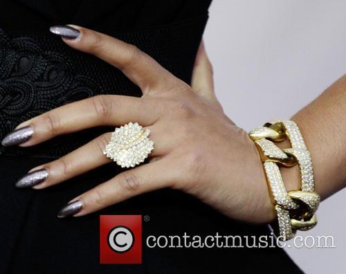 Keri Hilson (ring and bracelet detail) VH1 Divas...