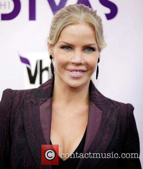 Television personality Jessica Canseco VH1 Divas 2012 held...