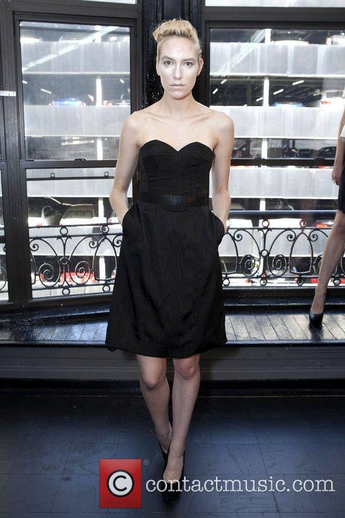Model Mercedes-Benz New York Fashion Week Spring/Summer 2013...