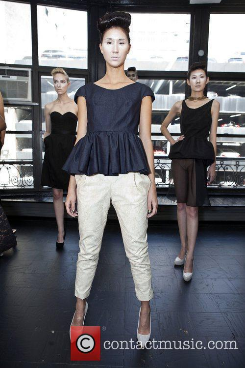 Models Mercedes-Benz New York Fashion Week Spring/Summer 2013...