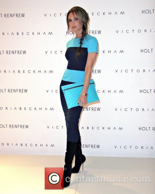 Victoria Beckham  debuts Fall/Winter 2012 Fashion line...