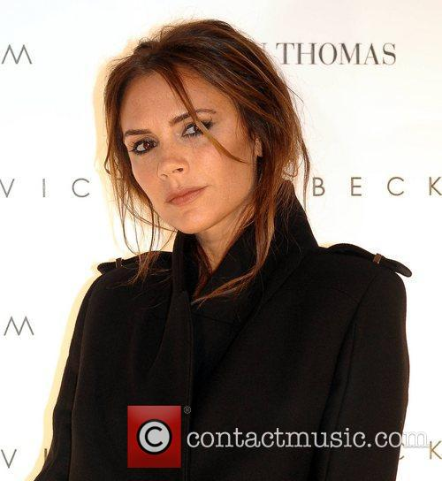 victoria beckham promotes her collections at brown 3995648