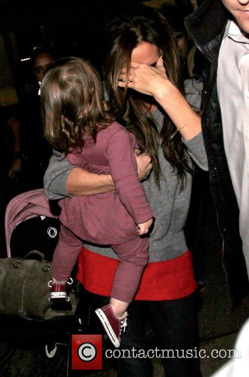 Victoria Beckham and Harper Seven Beckham 5