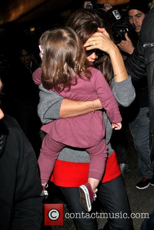 Victoria Beckham and Harper Seven Beckham 2